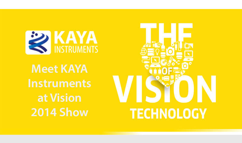 Meet KAYA Instruments at Vision 2014 Show