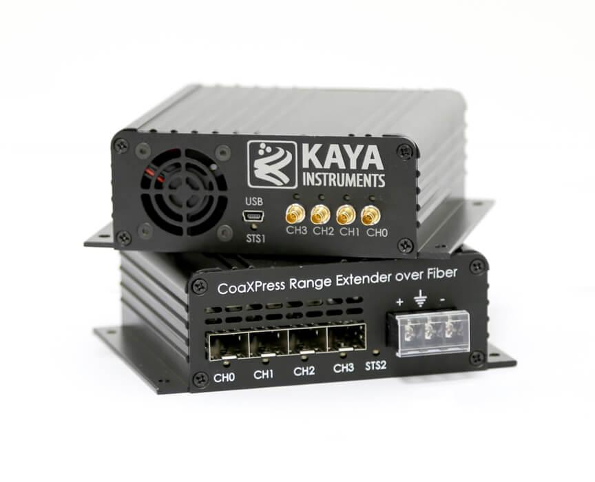 CoaXPress Range Extender over Fiber – KAYA Instruments