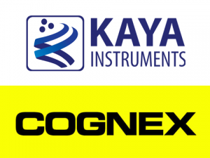 KAYA Instruments and Cognex Logo