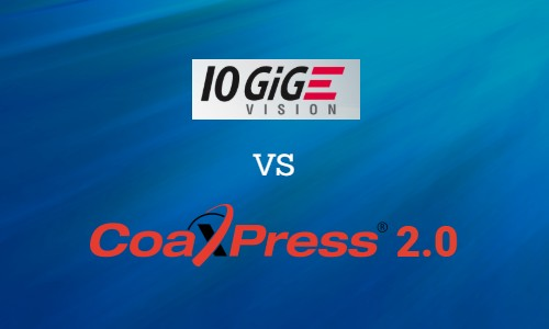 10GiGE VS CoaXPress 2.0 by KAYA Instruments
