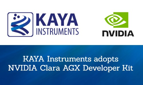 KAYA Instruments adopts NVIDIA Clara AGX Developer Kit